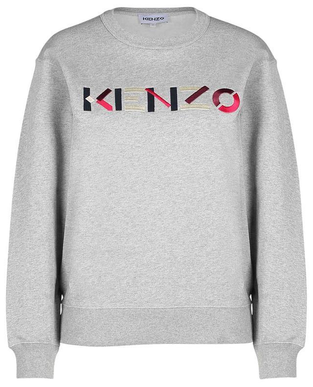 Sweat-shirt à col rond brodé logo graphique KENZO KENZO