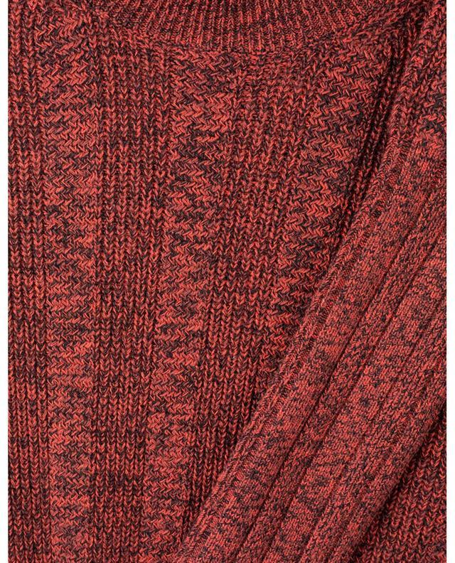 Robe longue en maille chinée près du corps KENZO