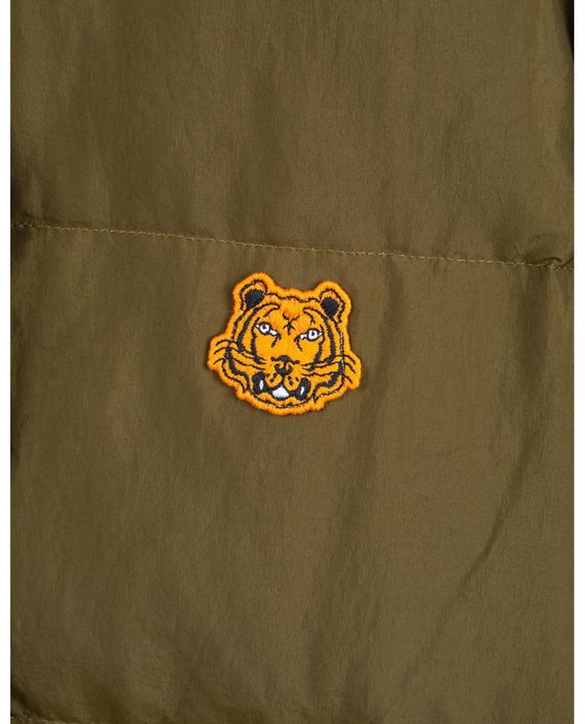 Lange wendbare Daunenjacke Tiger KENZO