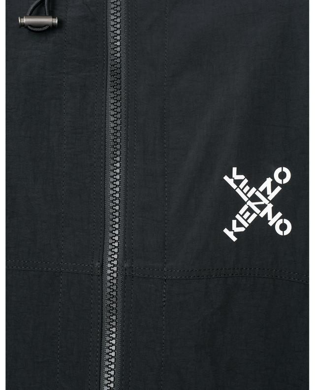 Logo parka with mesh insert KENZO