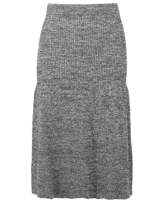 Trapez-Strickrock aus Baumwollmix KENZO