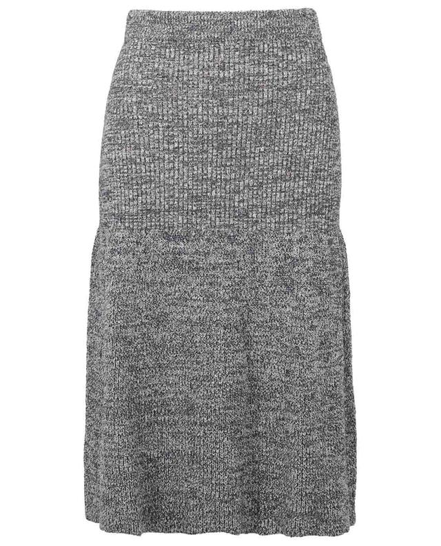 Jupe trapèze tricot en coton mélangé KENZO