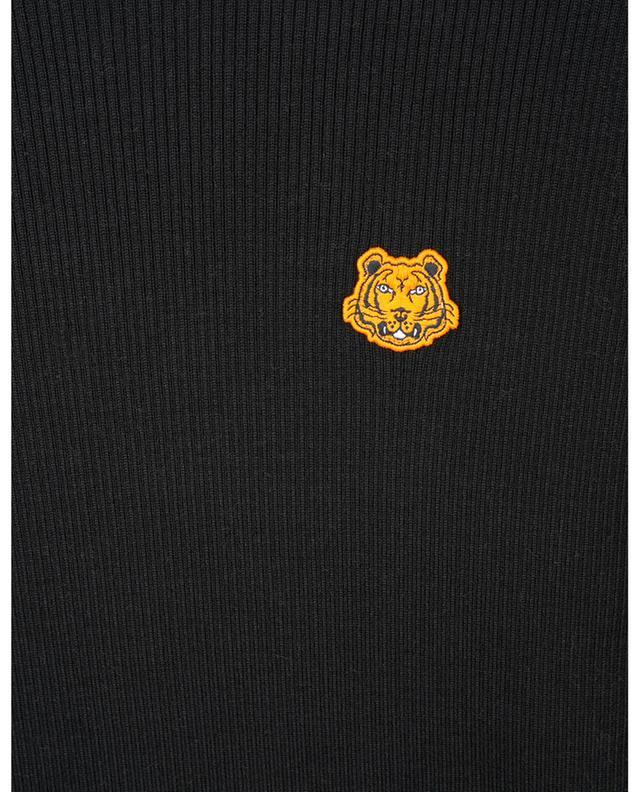 Pull col roulé en laine avec broderie Tiger Crest KENZO