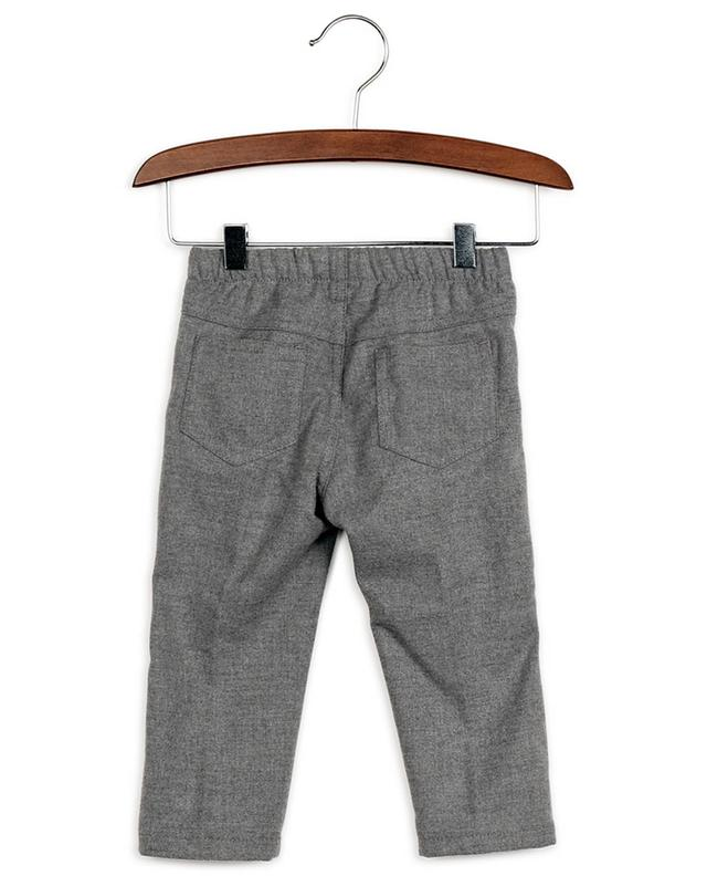 Pantalon bébé en flanelle IL GUFO