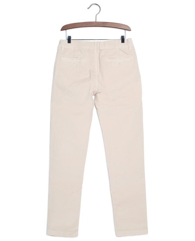 Pantalon slim en velours côtelé IL GUFO