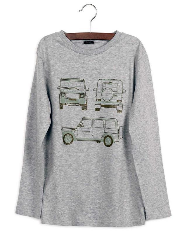 T-shirt à manches longues imprimé Jeeps IL GUFO