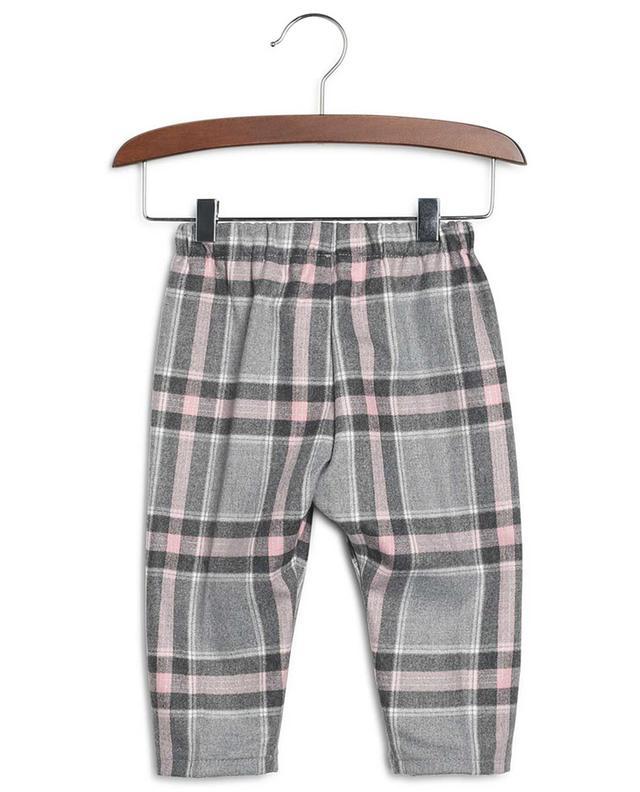 Pantalon à carreaux en viscose mélangée IL GUFO