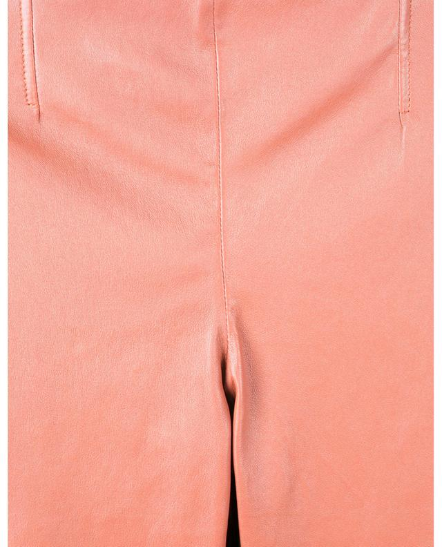 Pantalon skinny en cuir nappa d'agneau SLY 010