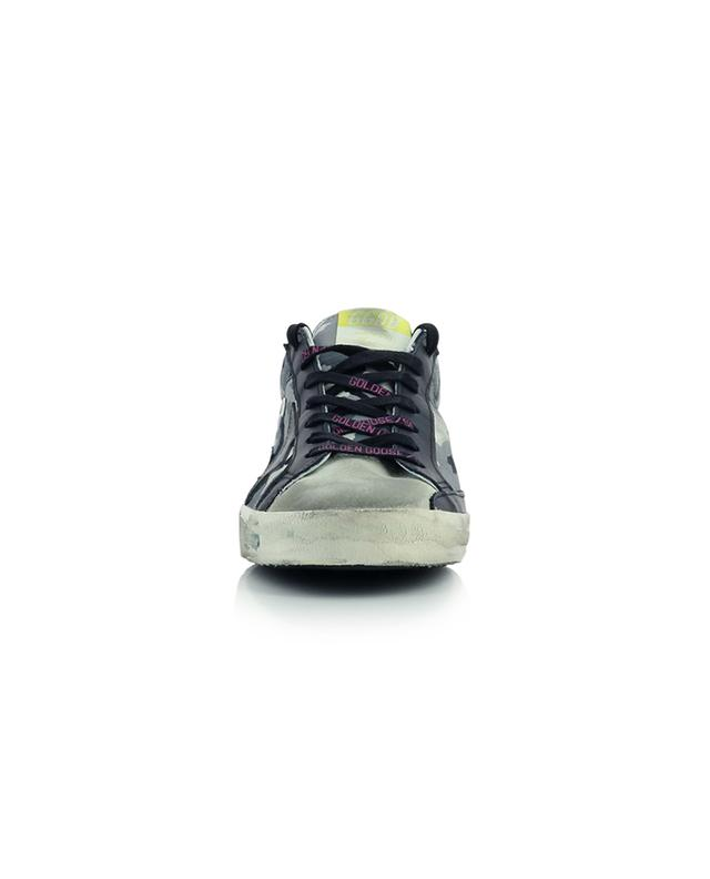 Superstar Classic fabric and suede sneakers GOLDEN GOOSE