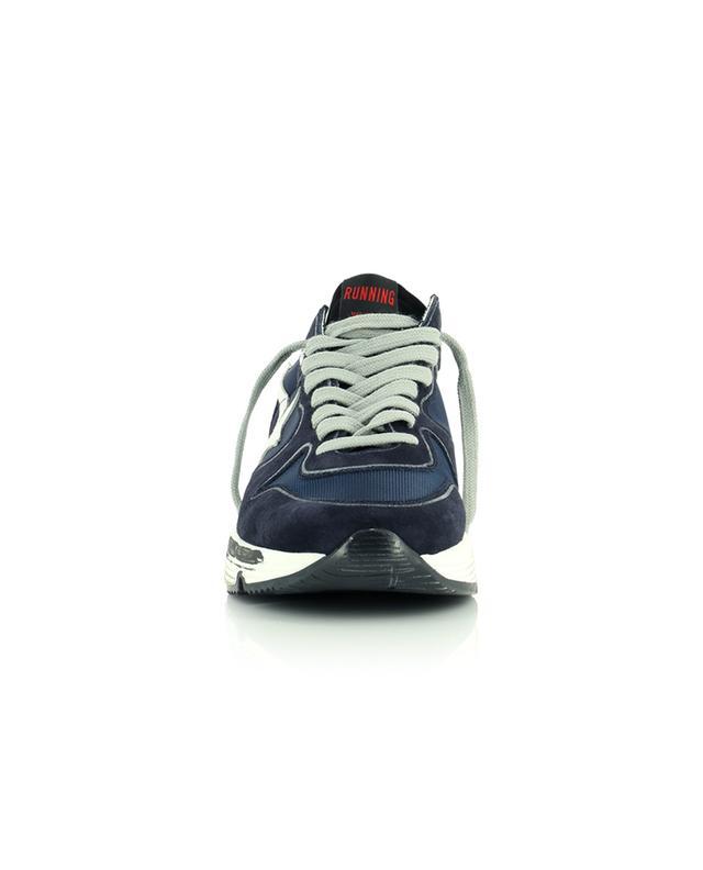 Sneakers aus Nylon und Wildleder mit Reflektor Running Sole GOLDEN GOOSE