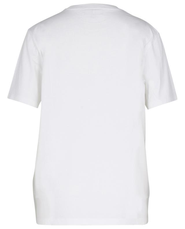 T-shirt en coton bio imprimé licorne GANNI