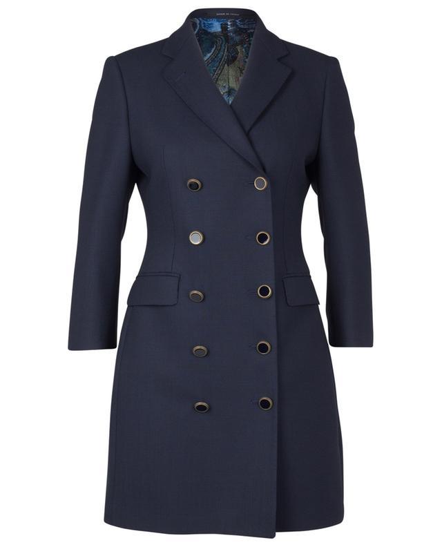Manteau cintré à double boutonnière Annabelle TAGLIATORE