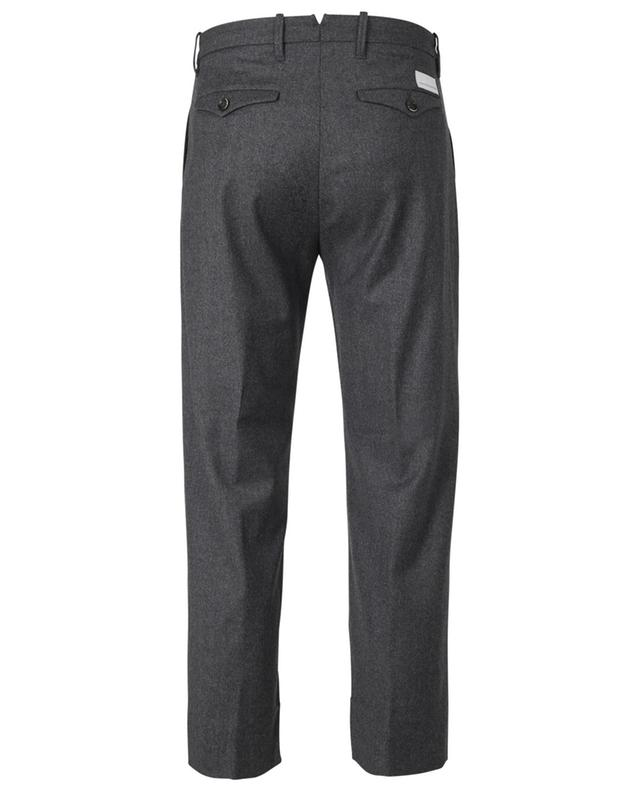 Cropped straight fit wool blend trousers NINE IN THE MORNING