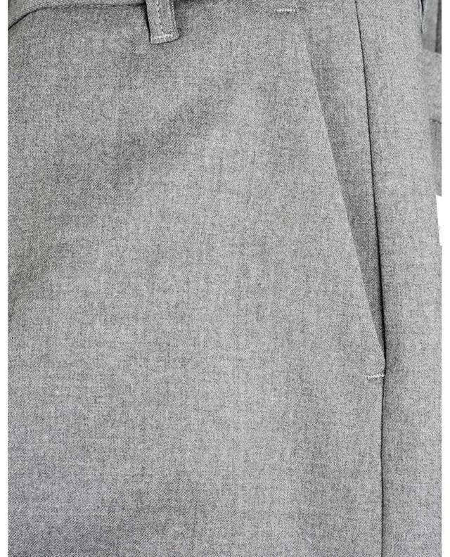 Pantalon droit raccourci en laine mélangée NINE IN THE MORNING