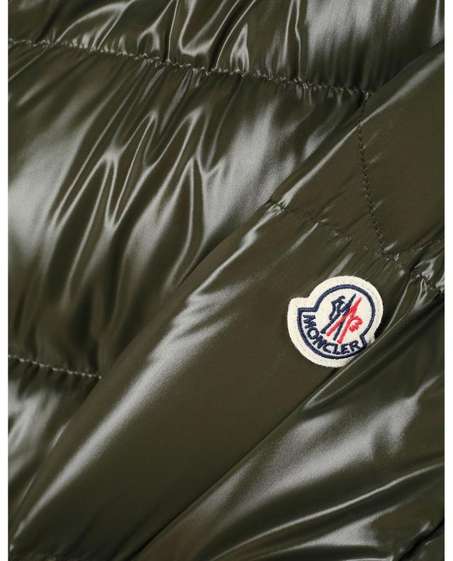 Rateau down jacket with logo detail stand-up collar MONCLER