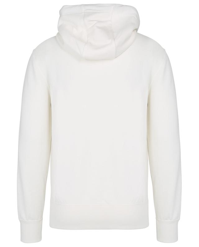 XXL logo embroidered hooded sweatshirt MONCLER