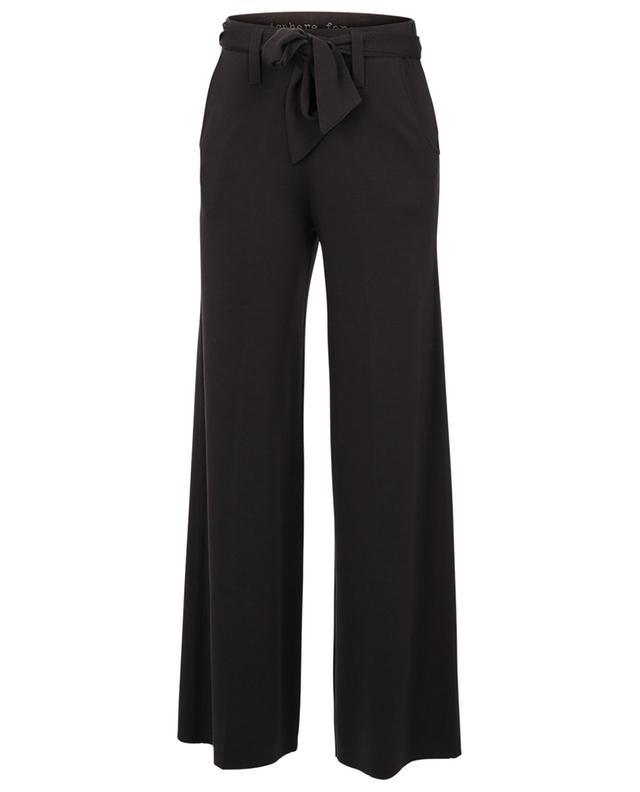 Pantalon large en maille fine à ceinture HEMISPHERE