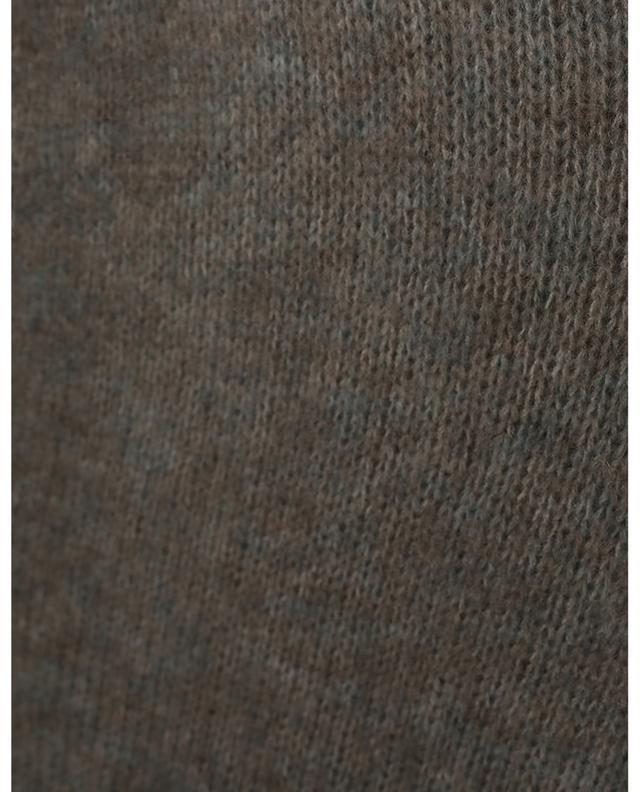 Cardigan long oversize en mohair et laine HEMISPHERE