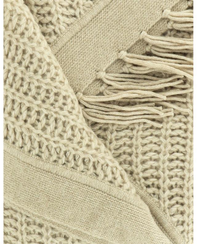 Écharpe triangulaire en cachemire et soie HEMISPHERE