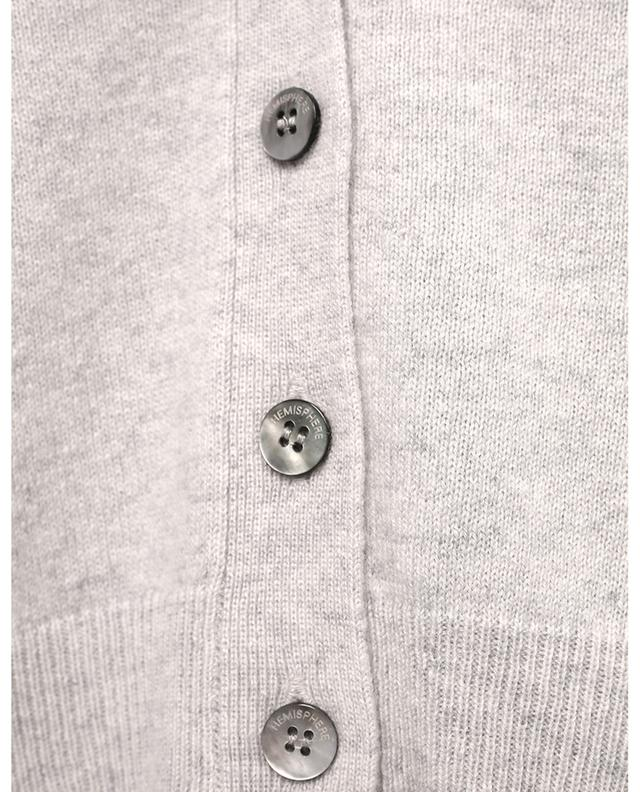 Cardigan en cachemire boutonné à col V HEMISPHERE