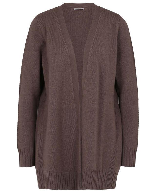 Cardigan long ouvert en laine et cachemire HEMISPHERE