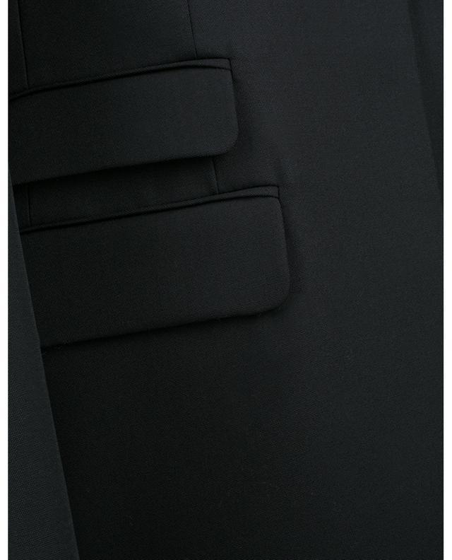 Blazer slim en laine piquée détail piercing BARBARA BUI