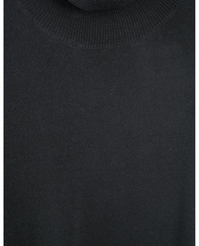 Pull oversize à col roulé en laine mérinos fine BARBARA BUI