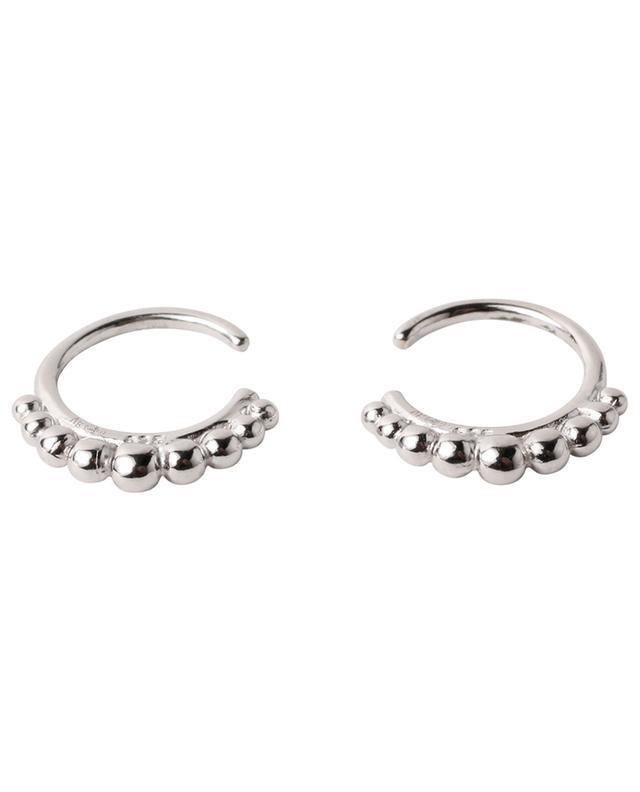Boucles d'oreilles de serrage en argent sterling 519 ROSE MARIE