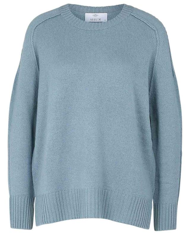 Pull col rond en cachemire ALLUDE