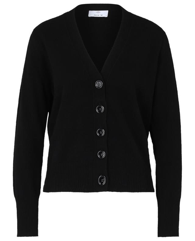 Cardigan col V en cachemire ALLUDE