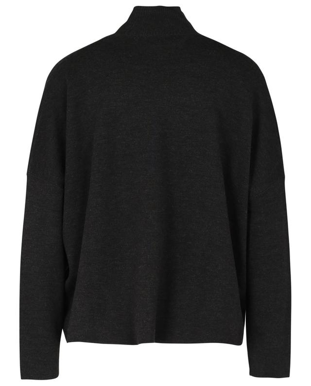 Pull col montant en laine vierge ALLUDE
