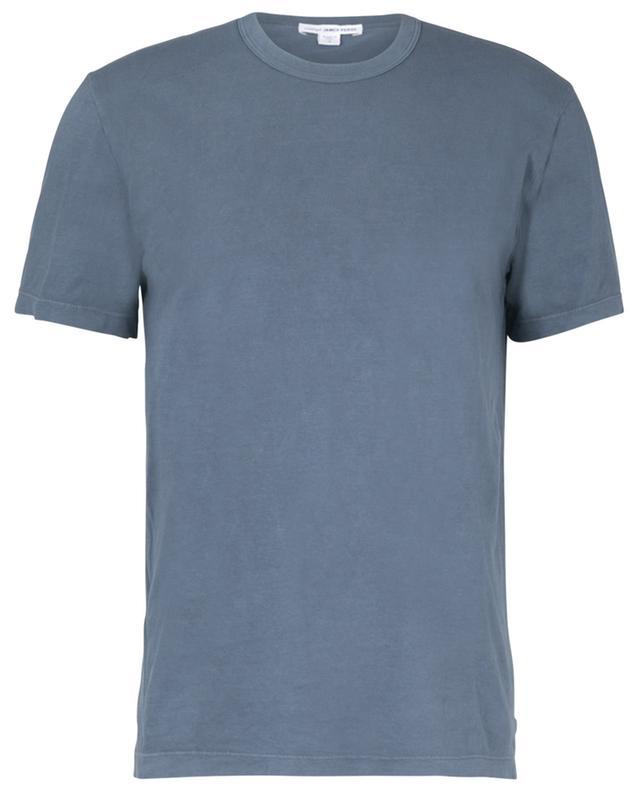 Rundhals-Kurzarm-T-Shirt aus leichtem Jersey JAMES PERSE