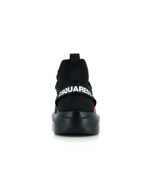 Baskets chaussette imprimées feuille d'érable Speedster DSQUARED2