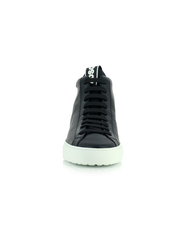 Hohe Sneakers aus perforiertem Glattleder San Diego DSQUARED2