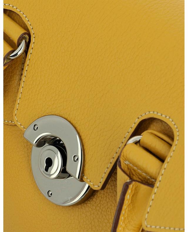 Sac porté épaule en cuir grainé Mini Cortina BERTHILLE MAISON FRANCAISE