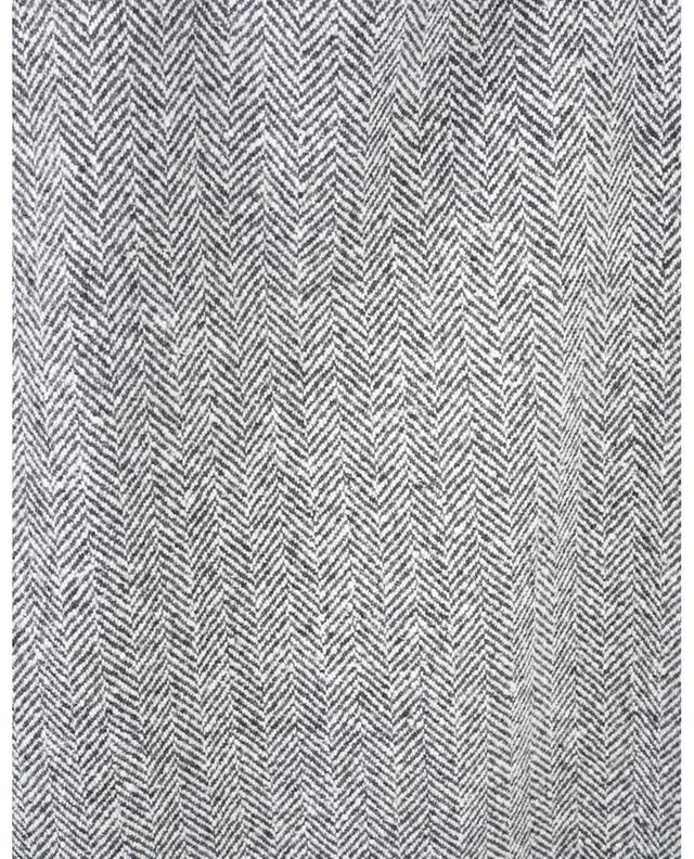 Jupe crayon en cachemire et laine vierge motif chevrons ERMANNO SCERVINO