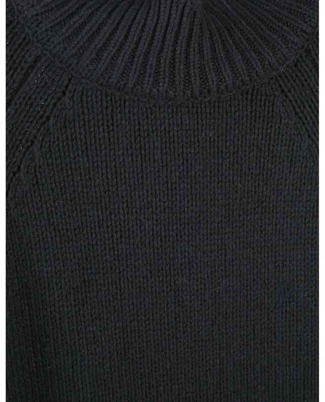 Minirobe pull superposée en laine mélangée, dentelle et tulle ERMANNO SCERVINO