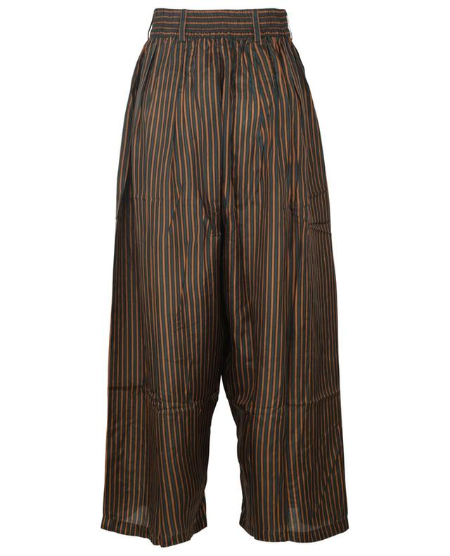 Pantalon large rayé en soie Sabra MES DEMOISELLES