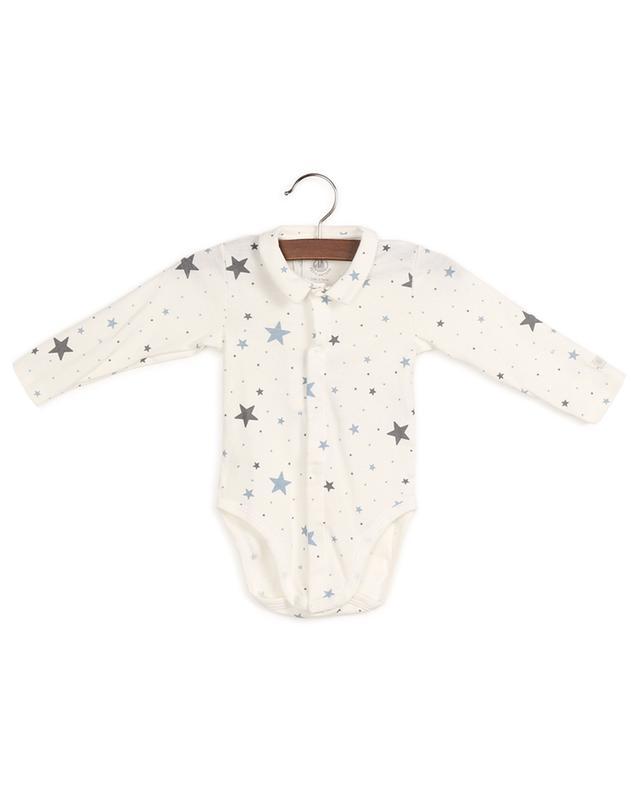 Body en coton imprimé étoiles Landeau PETIT BATEAU