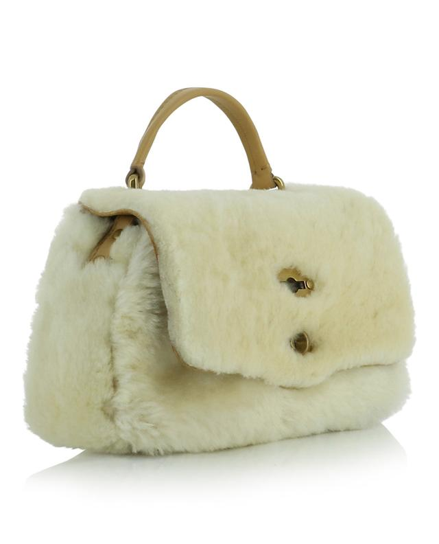 Postina Baby Linea Dolomiti small shearling handbag ZANELLATO
