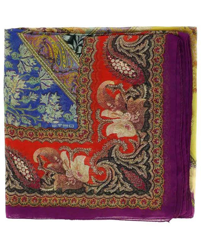 Foulard en soie imprimée Bombay ETRO