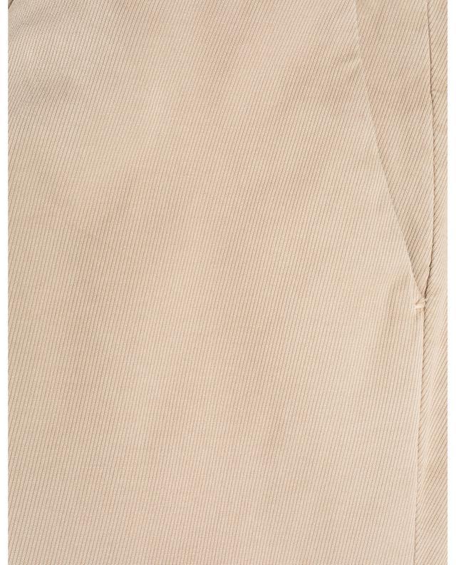 Pantalon chino en coton mélangé texturé B SETTECENTO