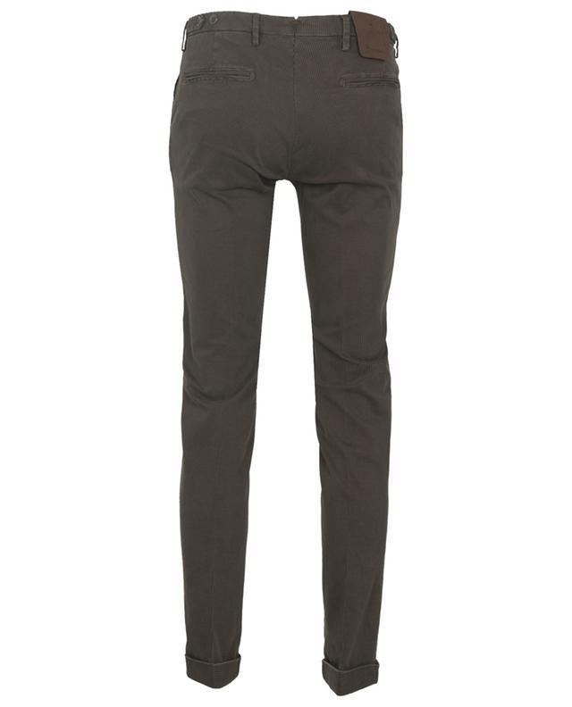 Pantalon chino en coton mélangé imprimé B SETTECENTO
