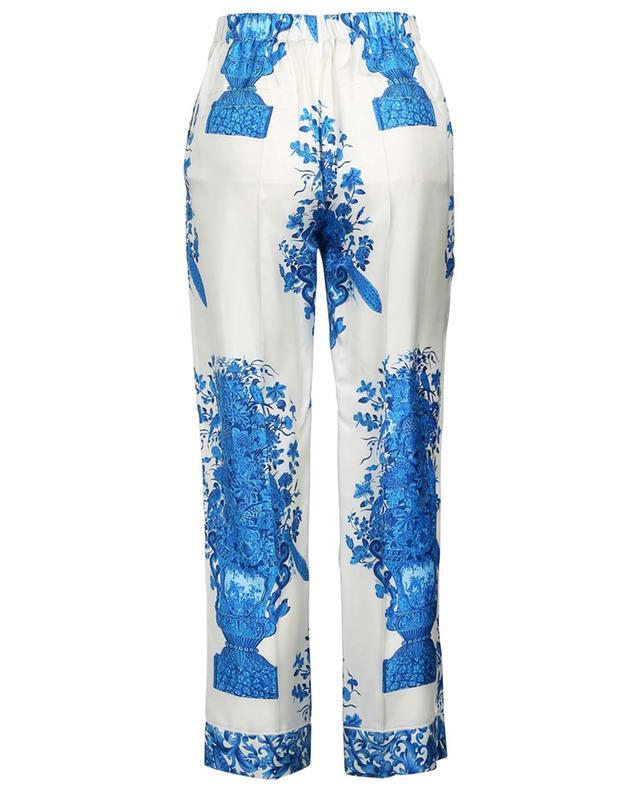Geblümte Twillhose im Pyjama-Stil Bluegrace Reedition VALENTINO