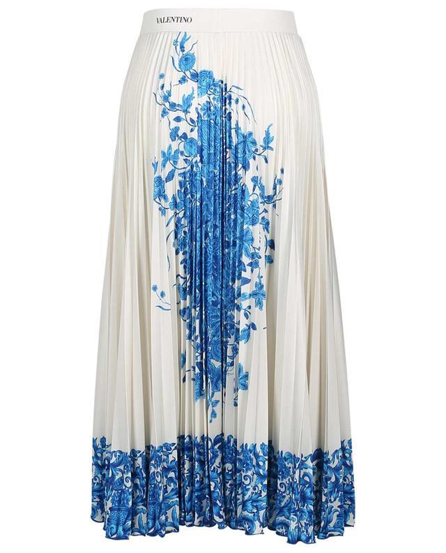 Bluegrace Bouquet print jersey skirt VALENTINO