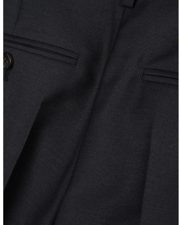 Pantalon droit en laine et mohair VALENTINO
