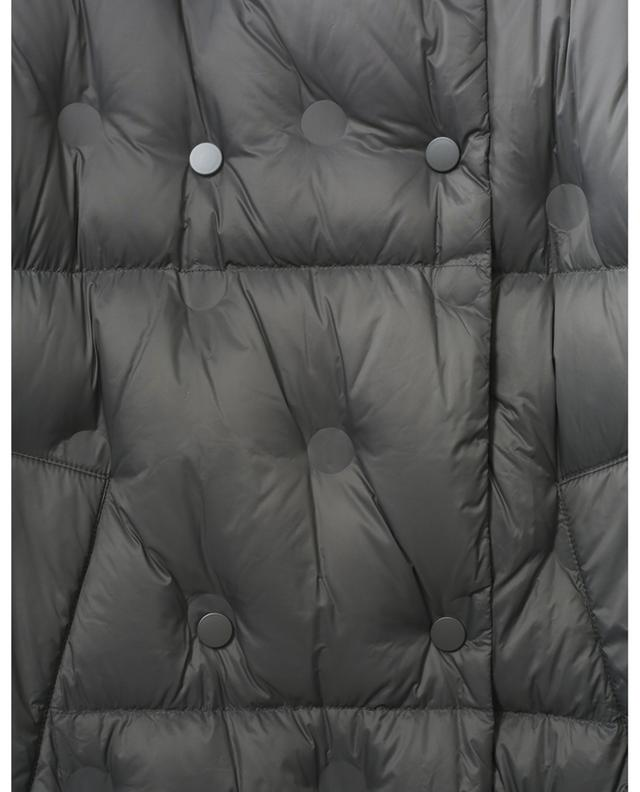 Nicolina long hooded upholstered down jacket STAND STUDIO