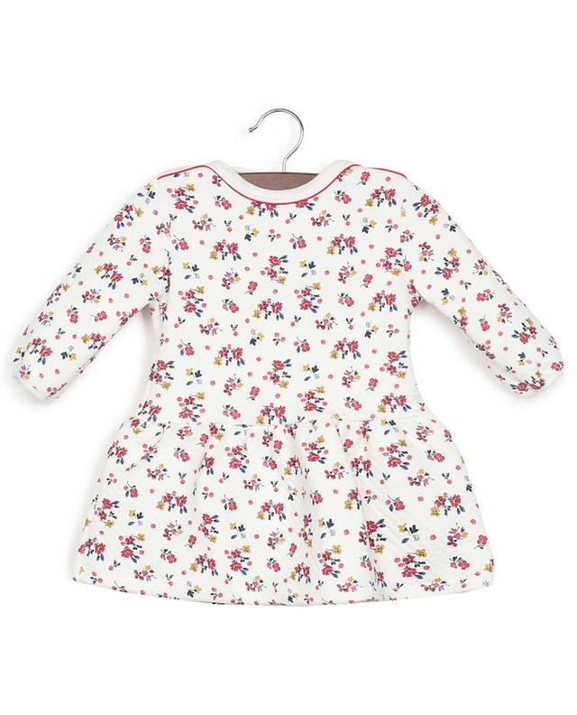 Cotton blend padded dress PETIT BATEAU