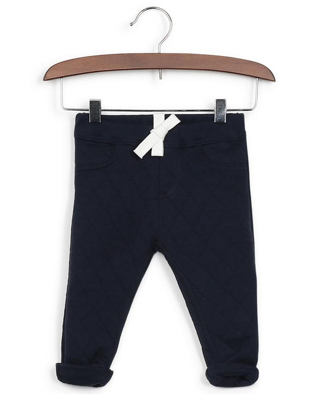 Cotton fleece trousers PETIT BATEAU