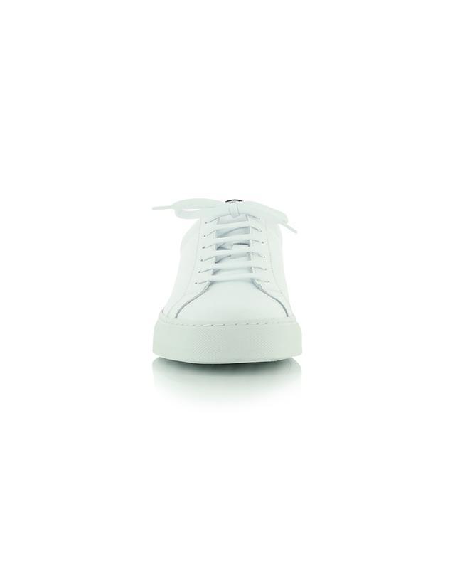 Baskets basses à lacets en cuir blanc et noir Retro Low COMMON PROJECTS
